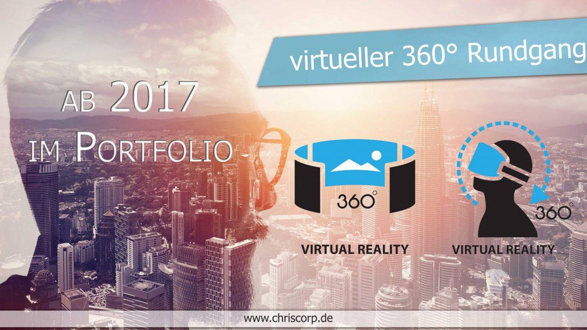 Ankündigung 360° Rundgang ab 2017